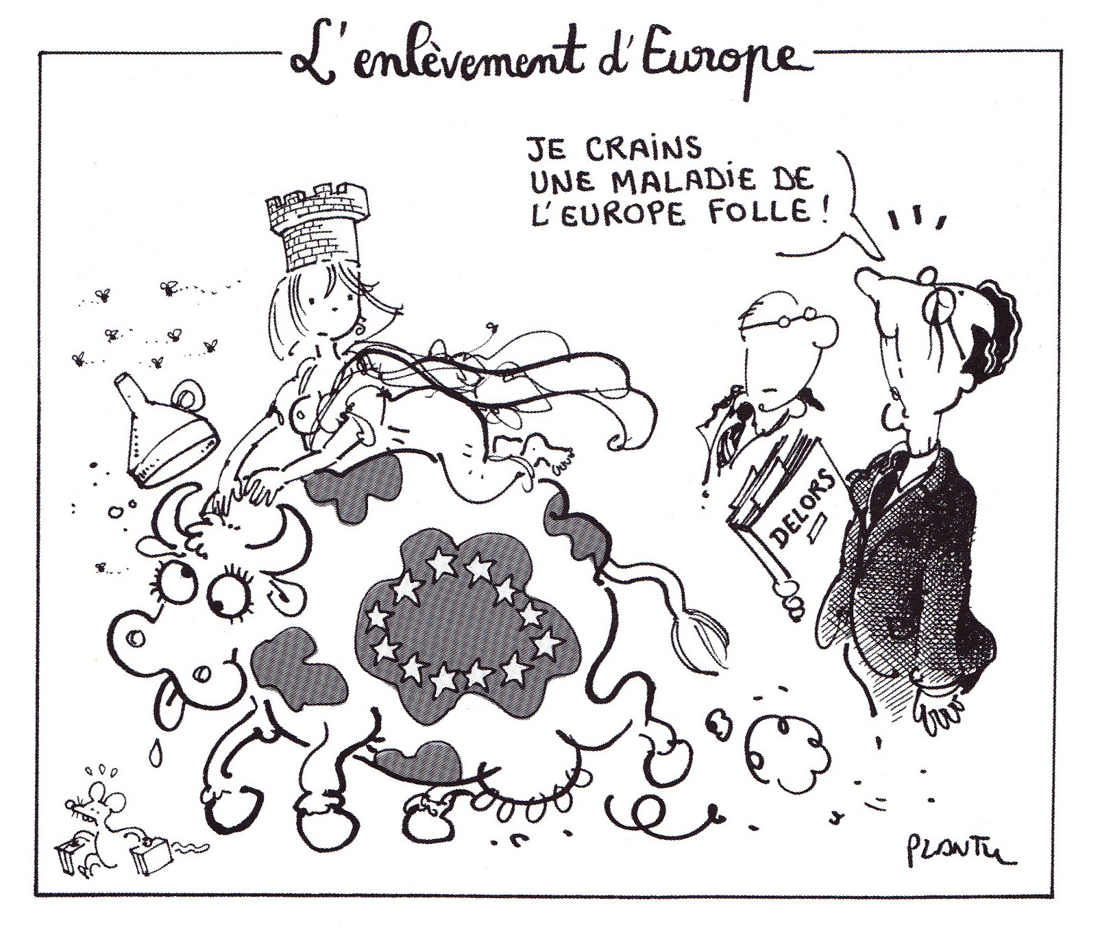 Plantu_L'Enlevement_d'Europe_1996